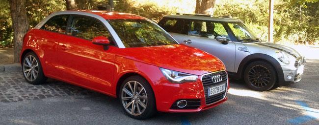 Audi A1 Vs Mini One El Aspirante Reta A Un Líder De Sólidos