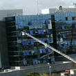 Coche bomba ante la sede de Ferrovial en Madrid