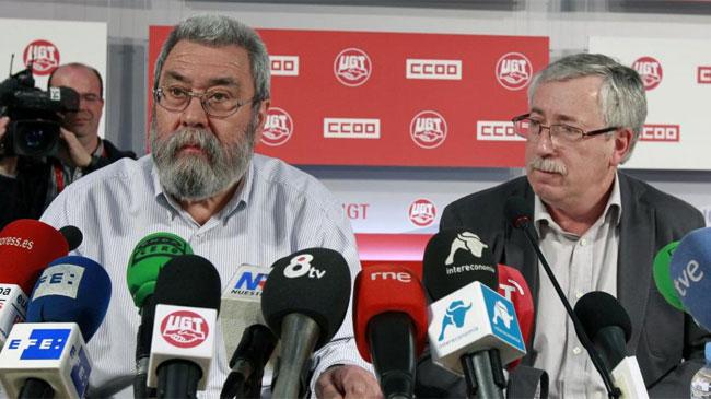 """Los sindicatos califican de """"masivo"""" el seguimiento de la huelga"""