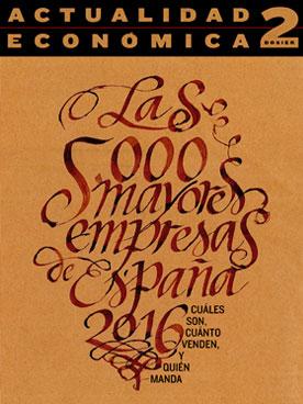 Portada 5000 Empresas Españolas 2018