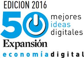 Premios 50 mejores ideas digitales Expansion Economía Digital