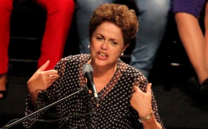 La presidente de Brasil, Dilma Rousseff.