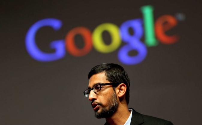 El vicepresidente de Google y responsable de Android, Sundar Pichai.