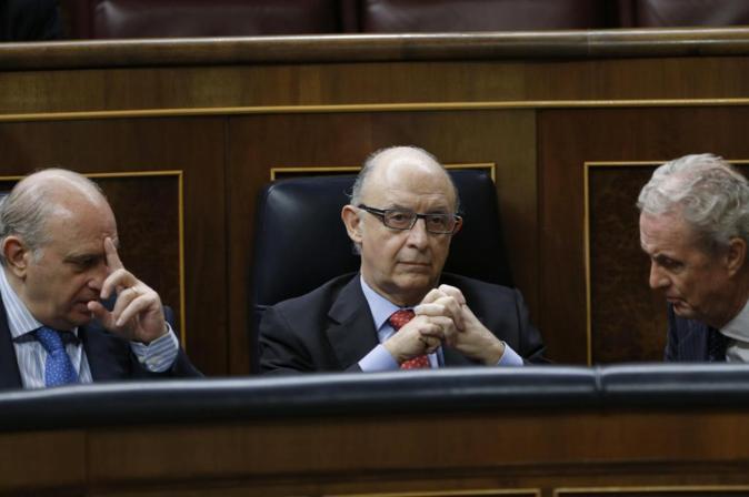 El ministro Cristóbal Montoro