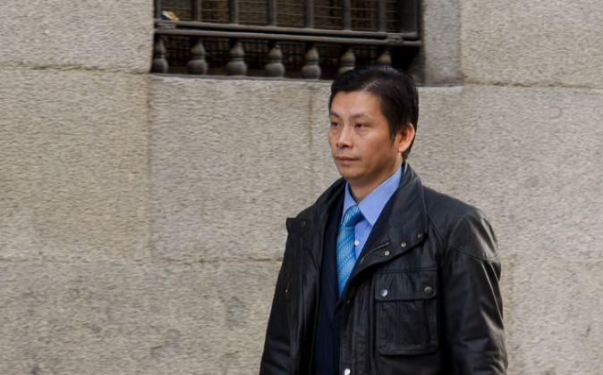 Gao Ping, considerado cabecilla de una trama de blanqueo de capitales.