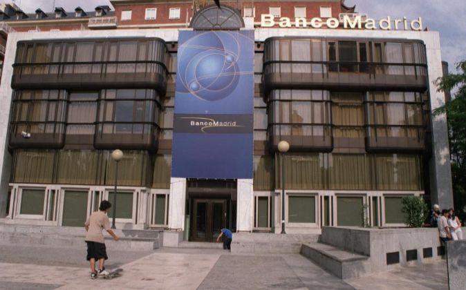 Una imagen de la sede de Banco de Madrid