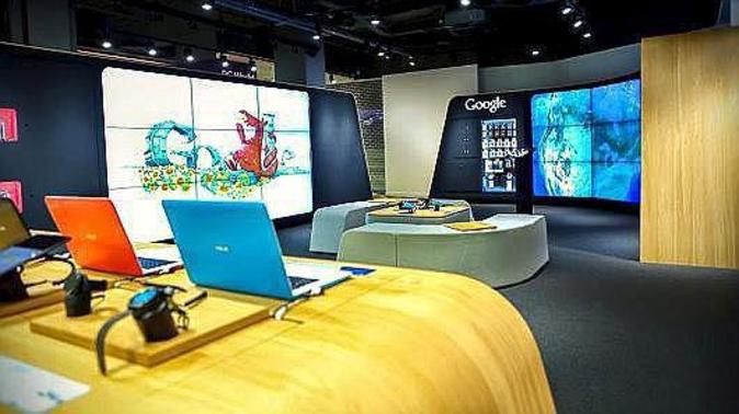 Primera tienda en el mundo de Google, en Londres