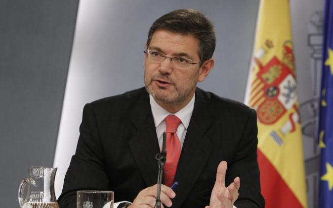 El ministro de Justicia, Rafael Catalá, en una imagen de archivo.
