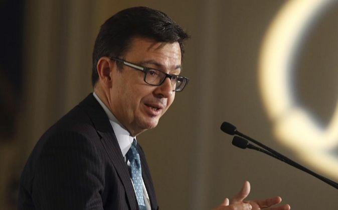 El vicepresidente del BEI, Ramón Escolano