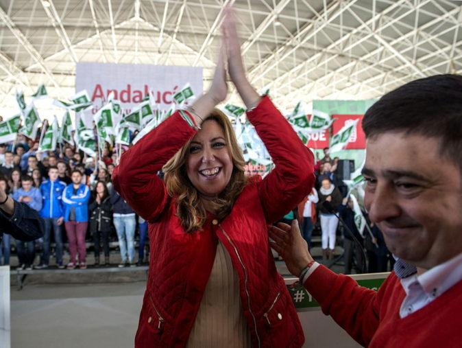 GRA105 JAÉN (Andalucía) 14/3/2015.- La presidenta de la Junta de...
