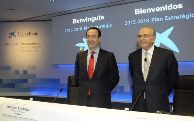 Gonzalo Gortázar e Isidro Fainé