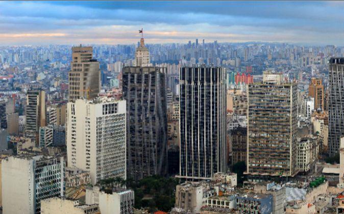 Panorámica de Sao Paulo (Brasil)