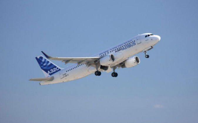 Un avión de Airbus