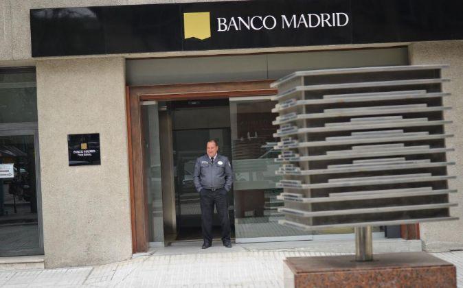 Oficina de Banco Madrid en Capitan Haya
