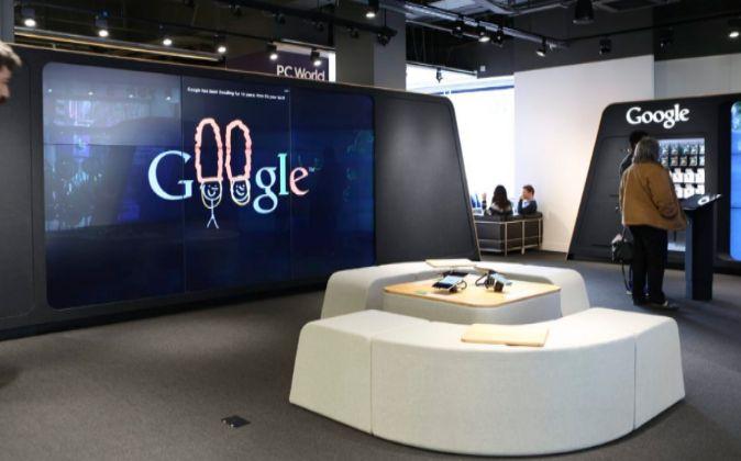 Google acaba de inaugurar su primera tienda física en Londres.
