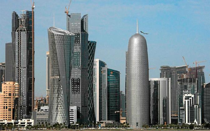 Panorámica de Doha, capital de Qatar