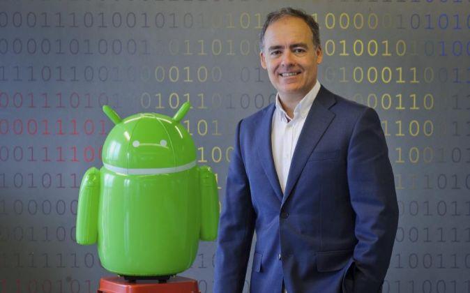 Jose Rodriguez Zapatero de Google Foto: JMCadenas