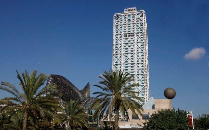 En la imagen, el Hotel Arts, en Barcelona.