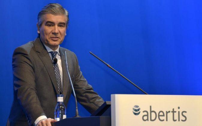 El vicepresidente y consejero delegado de Abertis, Francisco Reynés.