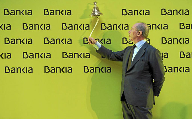Rodrigo Rato en la OPS de Bankia