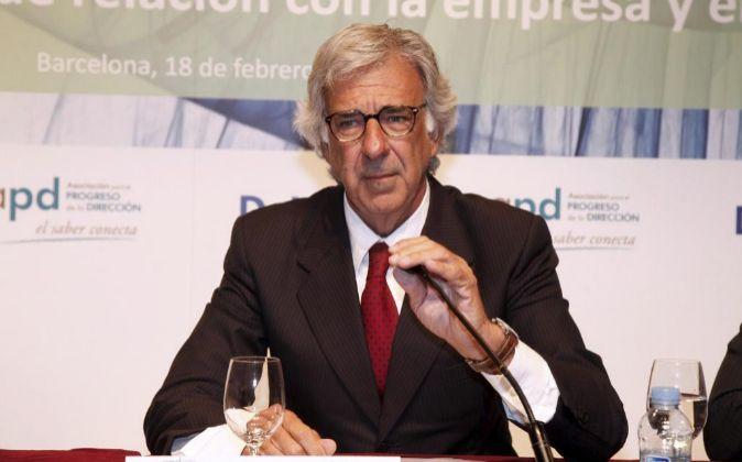 El abogado Emilio Cuatrecasas
