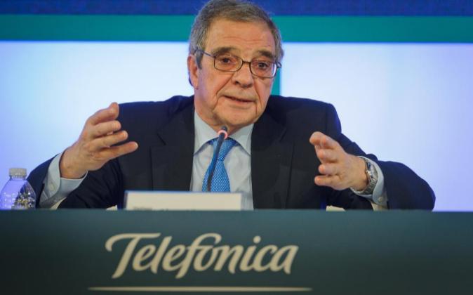 Cesar Alierta, presidente del Grupo Telefónica.