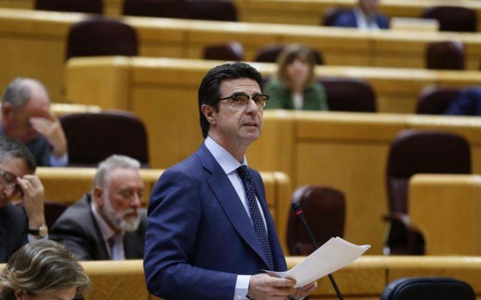 El ministro de Industria, Transporte y Turismo,  José Manuel Soria.