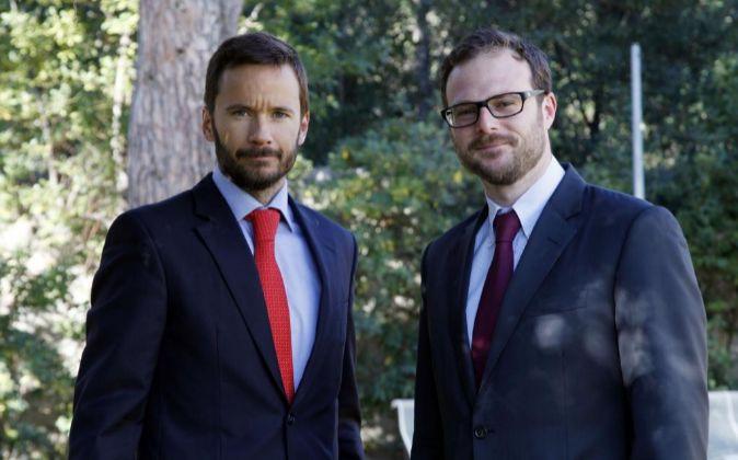 Alex Wendt, de GDA, con Xavier Mercadé, de Baker Tilly.