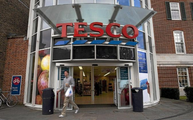 Supermerado de Tesco en Londres, Reino Unido.
