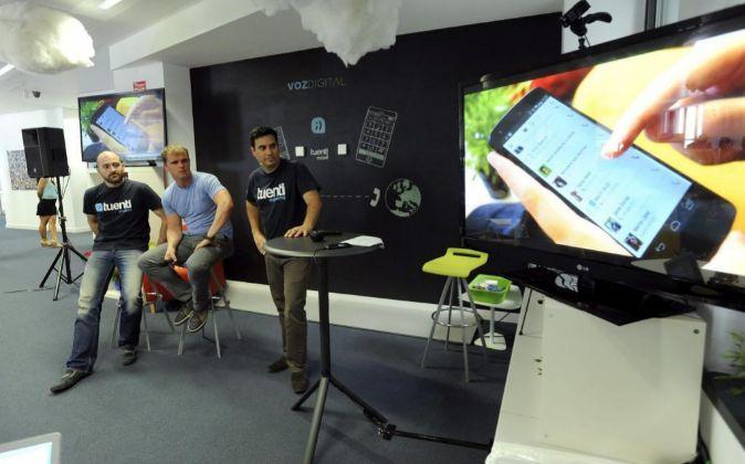 Presentación de la aplicación VozDigital en verano del año pasado