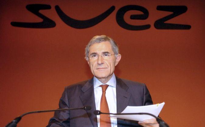 El  presidente de GDF Suez, ahora Engie,  Gérard Mestrallet.