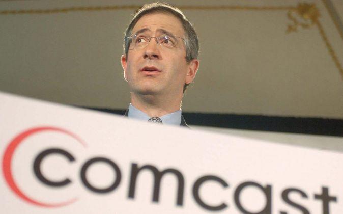 El presidente de Comcast, Brian L. Roberts.