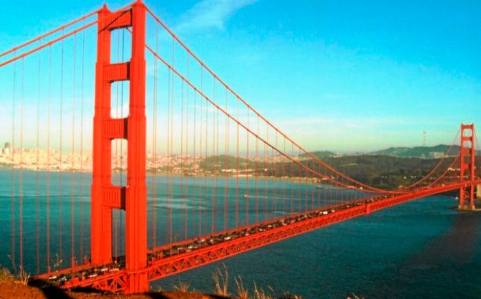 En la imagen, el puente Golden Gate de San Francisco.