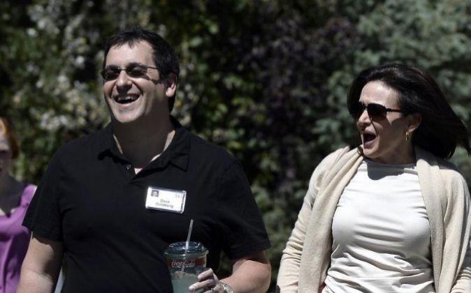 Dave Goldberg y Sheryl Sandberg, en una foto de archivo