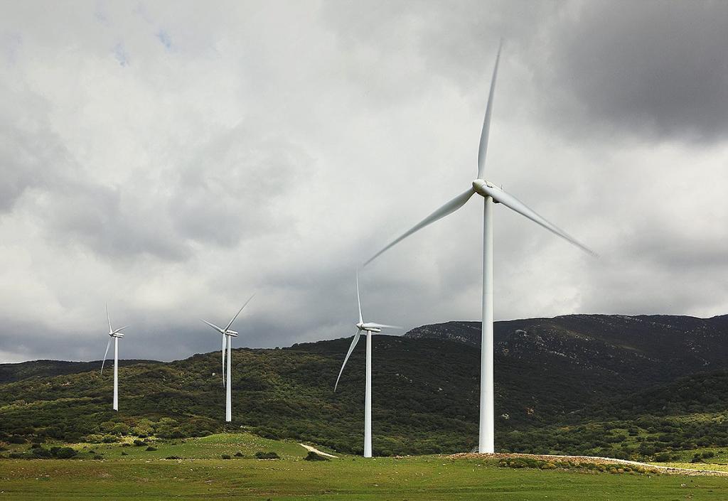 Parque eólico de Fersa.