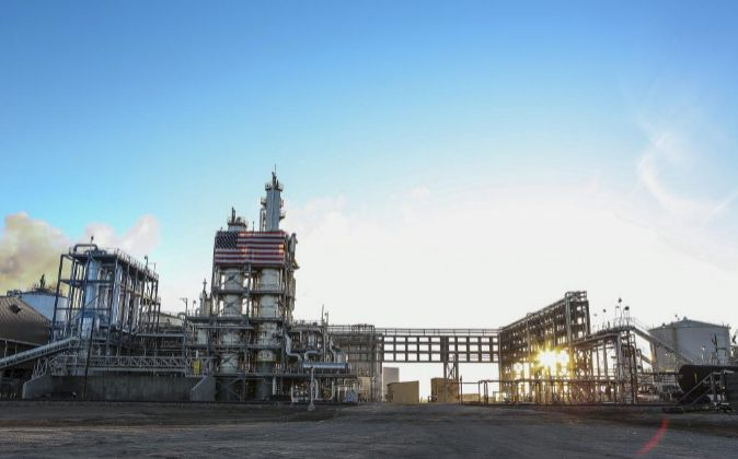 Planta de Abengoa de biocombustibles en Hugoton (Kansas, EEUU)