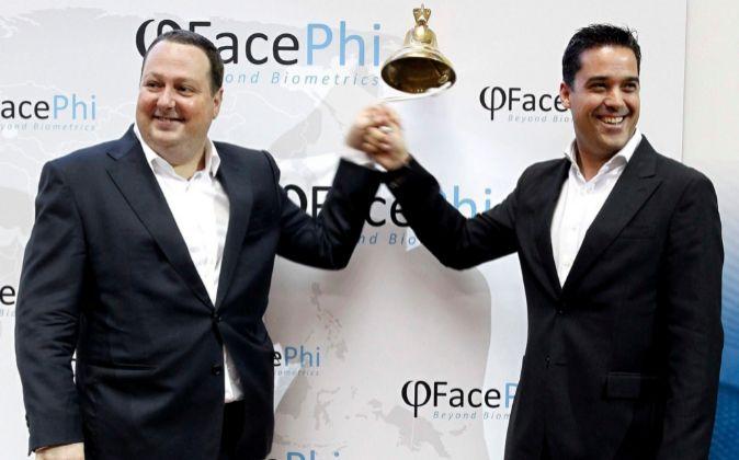 Salvador Martí, presidente, y Javier Mira, vicepresidente de Facephi.