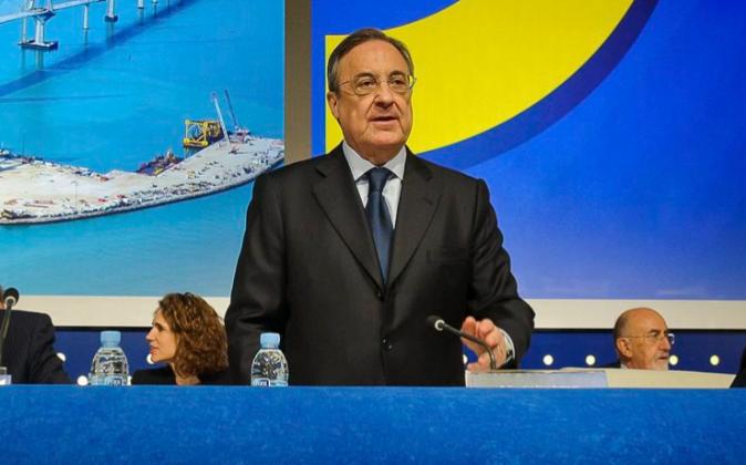 El presidente del Grupo ACS, Florentino Pérez.