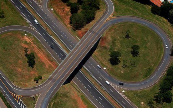 Imagen de la autopista de Intervías (Abertis) en Sao Paulo.
