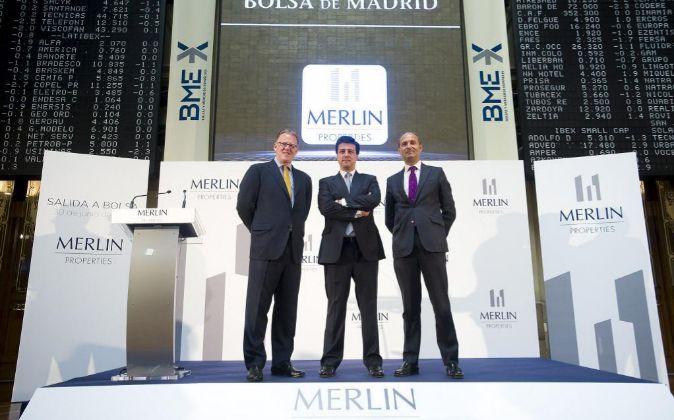 Imagen de recurso de la salida a Bolsa de Merlin Properties.