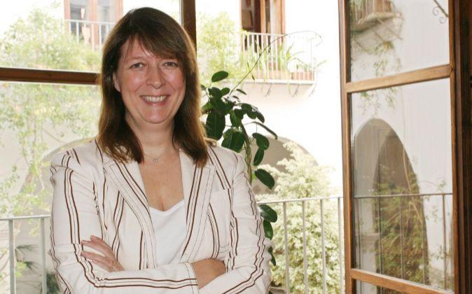 Agnès Noguera, consejera delegada de Libertas 7, en una imagen de...