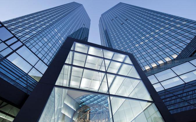 La sede de Deutsche Bank en Frankfurt