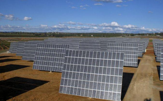 Planta fotovoltaica en Antofagasta (Chile).