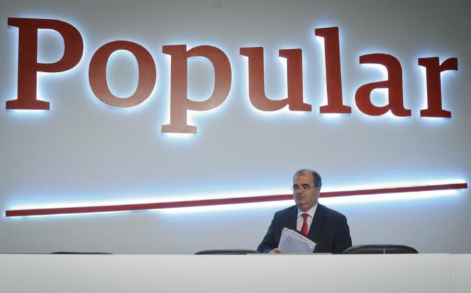Ángel Ron, presidente de Banco Popular.