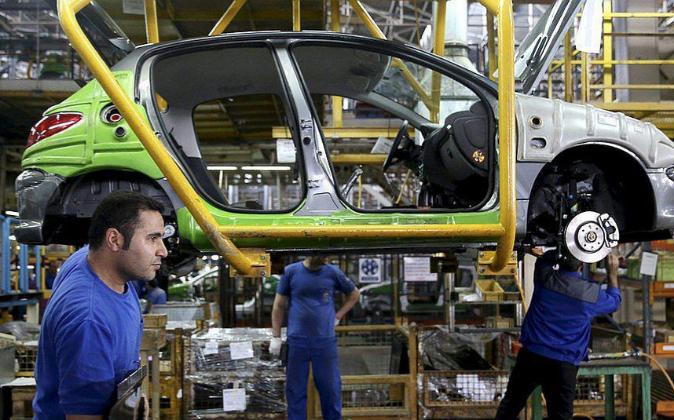 Fábrica de Peugeot.