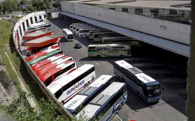 Estación de autobuses Méndez Álvaro (Madrid).