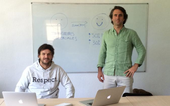 Tomás Santoro (izda.) y Alfredo Nicolás son los artífices de...