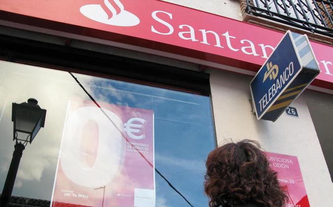 Una sucursal de Santander