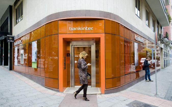 Una sucursal de Bankinter