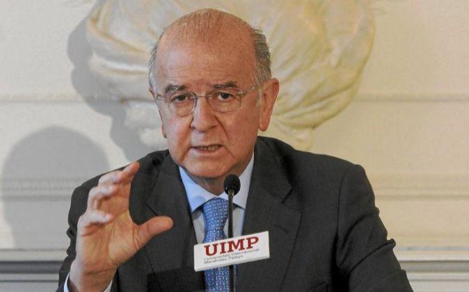 El presidente de BMN, Carlos Egea